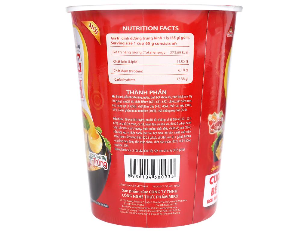Mì khoai tây Cung Đình vị cua bể rau răm ly 65g 8