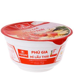Mì Phú Gia lẩu Thái tô 75g