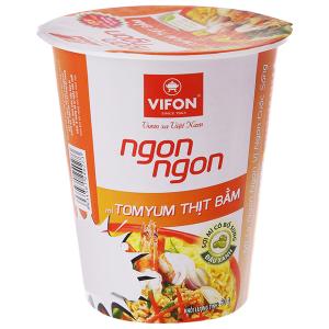 Mì Vifon Ngon Ngon tomyum thịt bằm ly 60g
