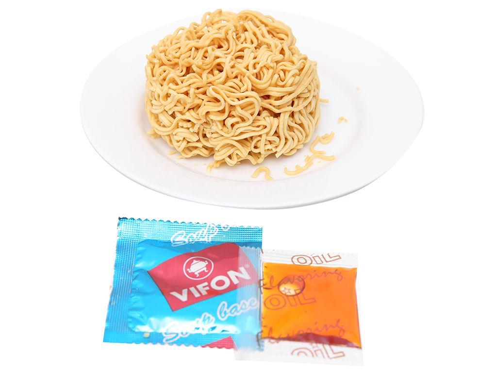 Mì Vifon Ngon Ngon tomyum thịt bằm ly 60g 6