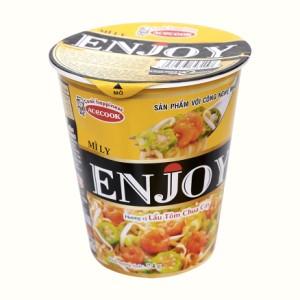 Mì Enjoy lẩu tôm chua cay ly 74g