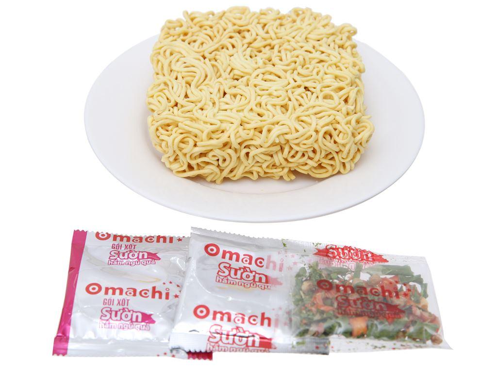 Thùng 30 gói mì khoai tây Omachi sườn hầm ngũ quả 80g 4