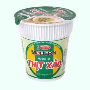 Mì Modern thịt xào ly 65g