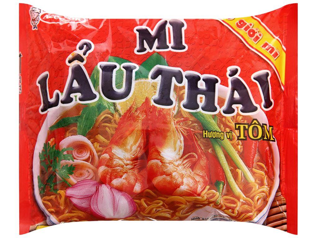 Thùng 30 gói mì Lẩu Thái tôm 80g 3