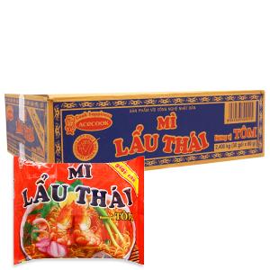 Thùng 30 gói Mì Lẩu Thái vị tôm 80g