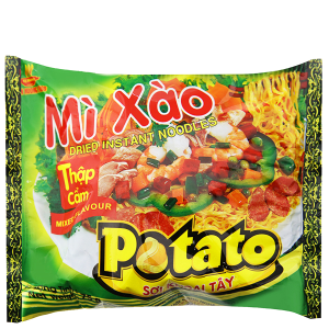 Mì xào Potato thập cẩm gói 75g