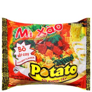 Mì xào Potato bò sốt cay gói 75g