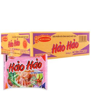 Thùng 30 gói Mì Hảo Hảo tôm chua cay 75g