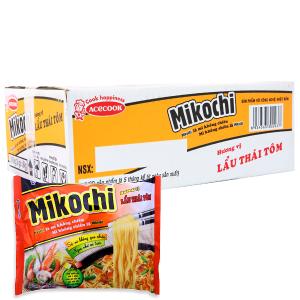 Thùng 24 gói Mì Mikochi lẩu Thái tôm gói 84g