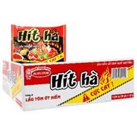 Thùng mì Hít Hà Lẩu tôm ớt hiểm (30 gói)
