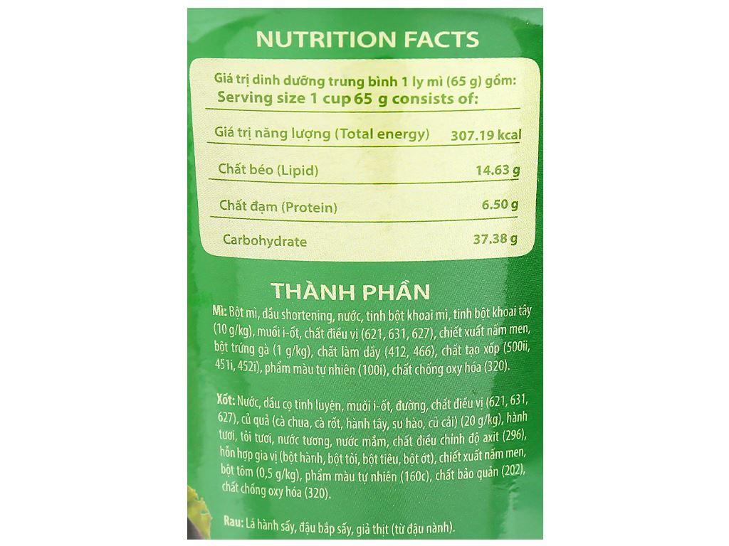Thùng 24 ly mì khoai tây Cung Đình lẩu tôm chua cay 65g 10