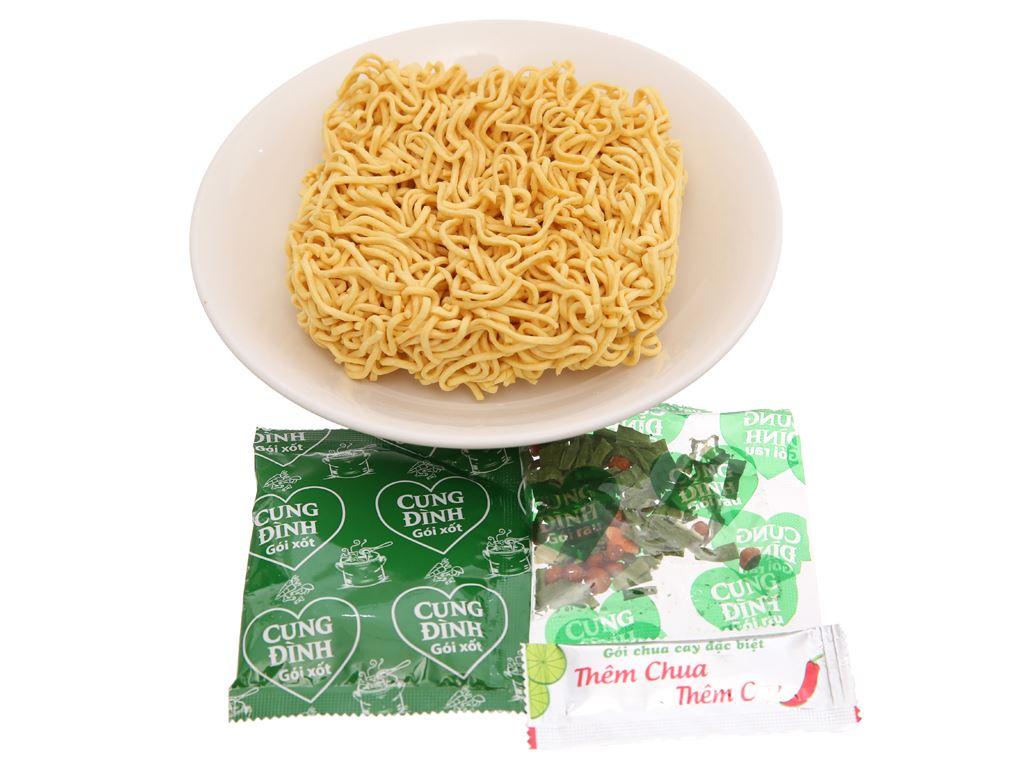 Thùng 30 gói Mì khoai tây Cung Đình lẩu tôm chua cay 80g 6