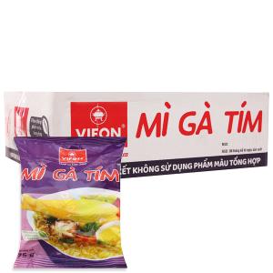 Thùng 30 gói Mì Vifon gà tím 75g