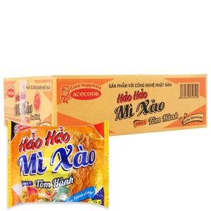 Thùng 30 gói Mì xào khô Hảo Hảo tôm hành 75g