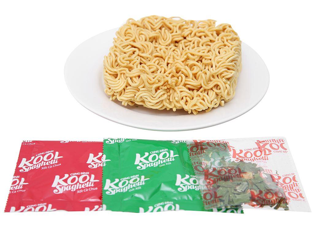 Mì Cung Đình Kool xốt Spaghetti thịt bò bằm tô 105g 6