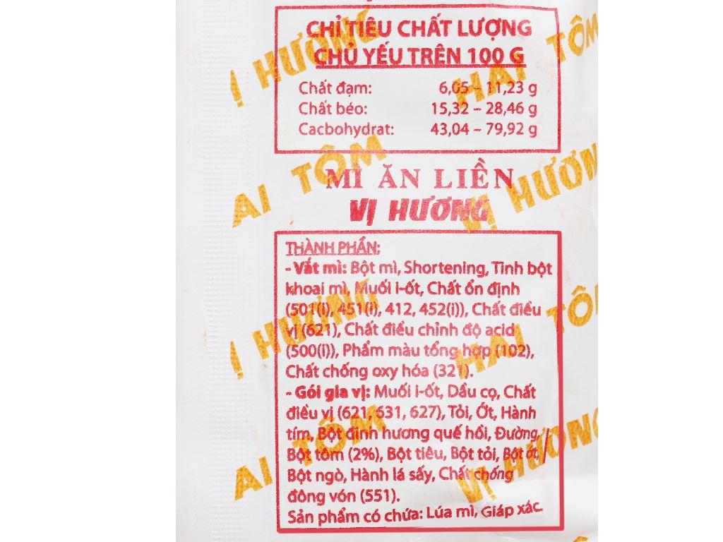 Mì Vị Hương sa tế gói 70g 4