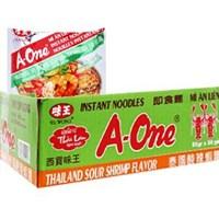 Thùng mì A-One Lẩu tôm chua cay (30 gói)