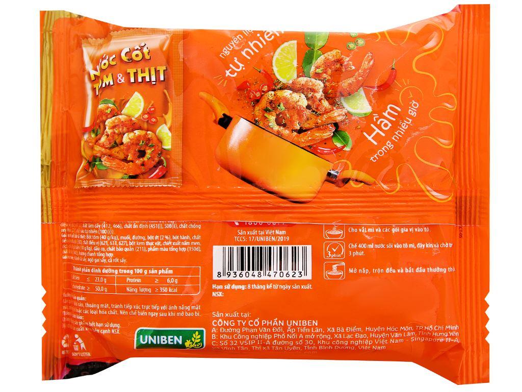Thùng 30 gói mì 3 Miền Gold chua cay Thái 75g 3