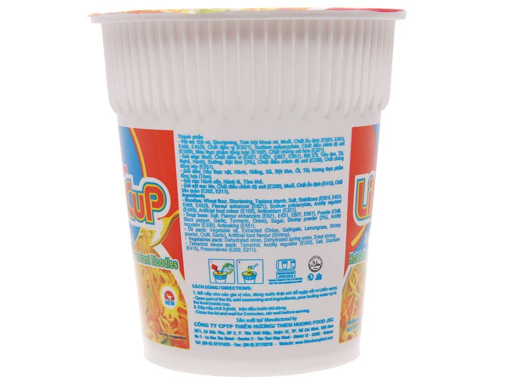 Thùng 24 ly mì Vị Hương Life Cup lẩu Thái 60g 5