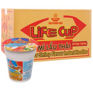 Thùng 24 ly mì Vị Hương Life Cup lẩu Thái 60g