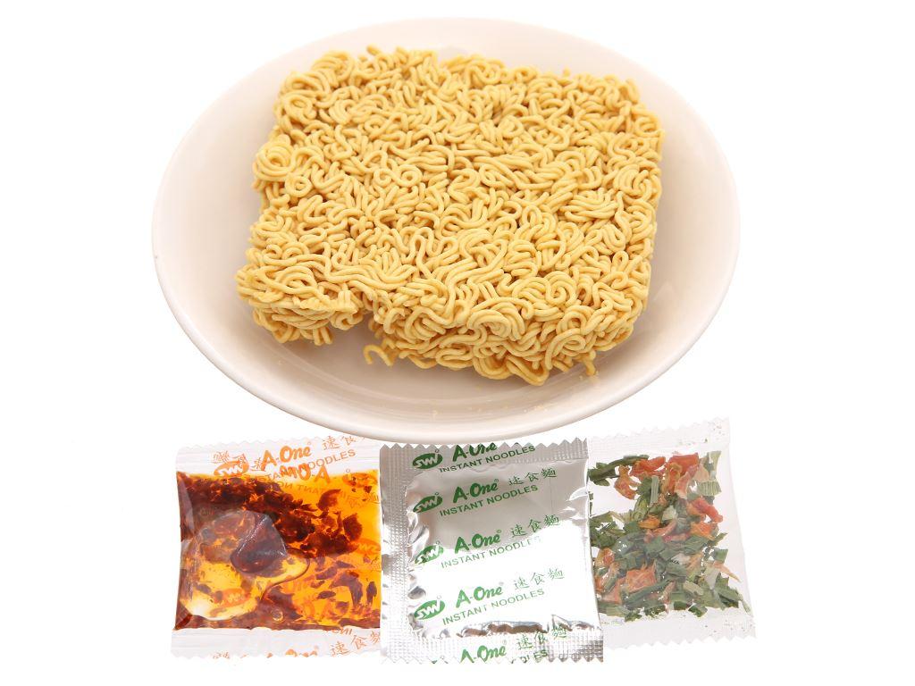 Mì A-One tôm chua Thái gói 85g 9