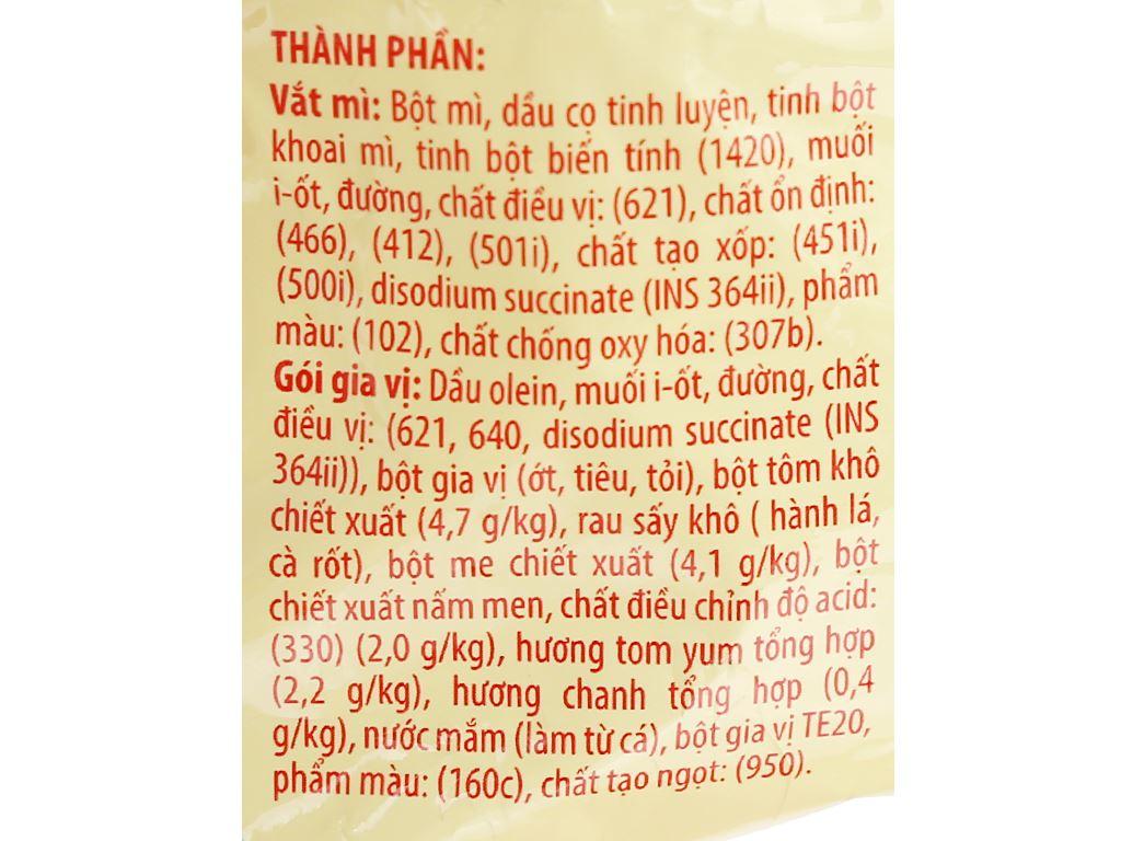 Mì A-One tôm chua Thái gói 85g 8