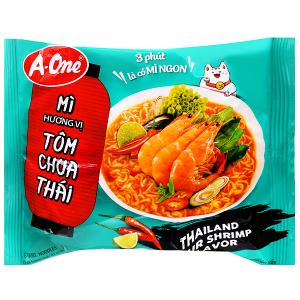 Mì A-One tôm chua Thái gói 85g