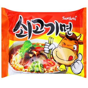 Mì Samyang vị bò gói 120g