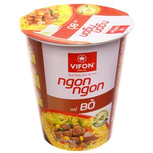 Mì Vifon Ngon Ngon vị bò ly 60g