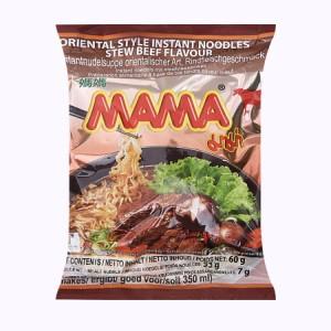 Mì Mama hương thịt bò hầm gói 60g