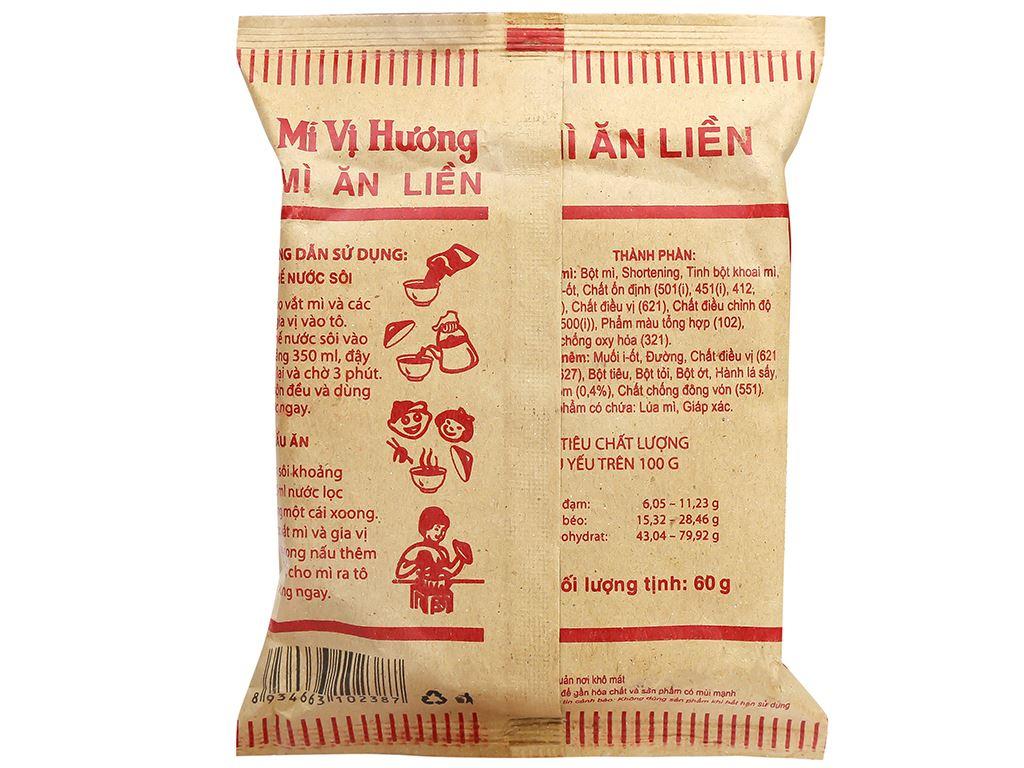 Mì Vị Hương giấy vàng gói 60g 5