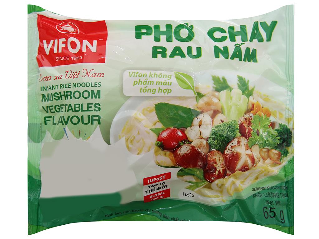Thùng 30 gói phở chay rau nấm Vifon 65g 3