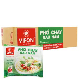 Thùng 30 gói phở chay rau nấm Vifon 65g