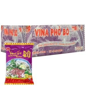 Thùng 30 gói phở vị bò Bích Chi Vina Phở 70g