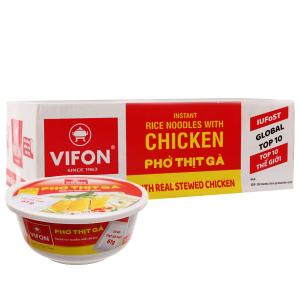 Thùng 12 tô phở thịt gà Vifon 120g