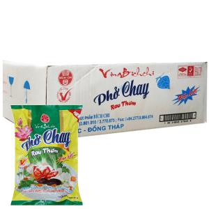 Thùng 30 gói phở chay rau thơm đặc biệt Bích Chi gói 60g