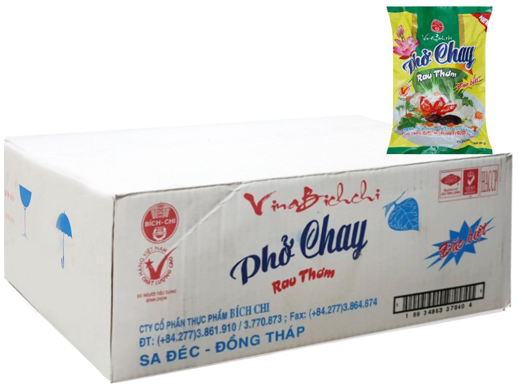 Thùng 30 gói phở chay rau thơm đặc biệt Bích Chi 60g 2