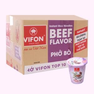 Thùng 24 ly phở bò Vifon 55g