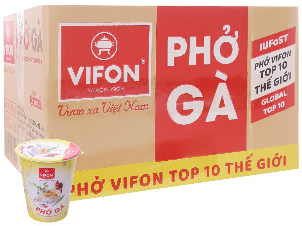 Thùng 24 ly phở gà Vifon 55g 1