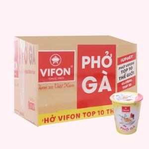 Thùng 24 ly phở gà Vifon 55g