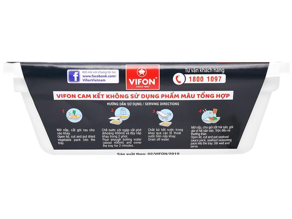 Phở xào hải sản Vifon khay 80g 3