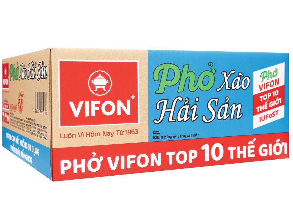 Thùng 18 khay phở xào hải sản Vifon 80g 1