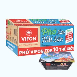 Thùng 18 khay phở xào hải sản Vifon 80g