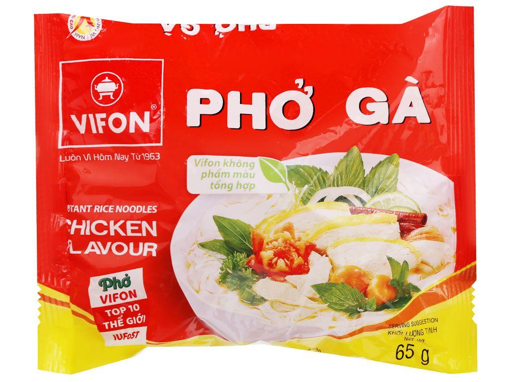 Phở gà Vifon gói 65g 8