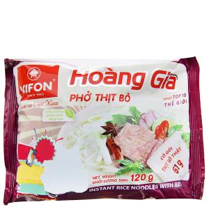 Phở thịt bò Vifon Hoàng Gia gói 120g