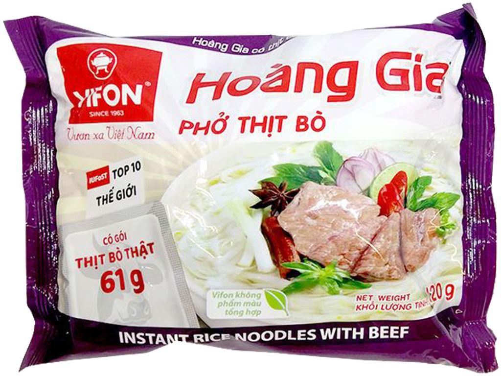 Phở thịt bò Vifon Hoàng Gia gói 120g 1