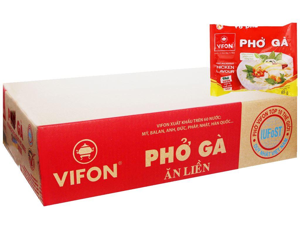 Thùng 30 gói phở gà Vifon 65g 1