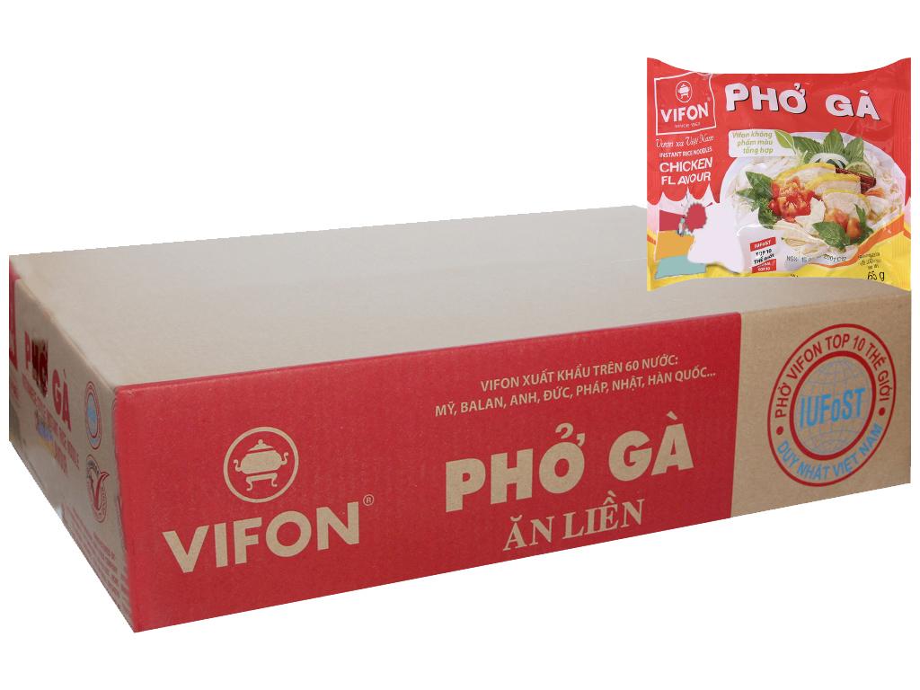 Thùng 30 gói phở gà Vifon gói 65g 2