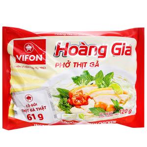 Phở thịt gà Vifon Hoàng Gia gói 120g