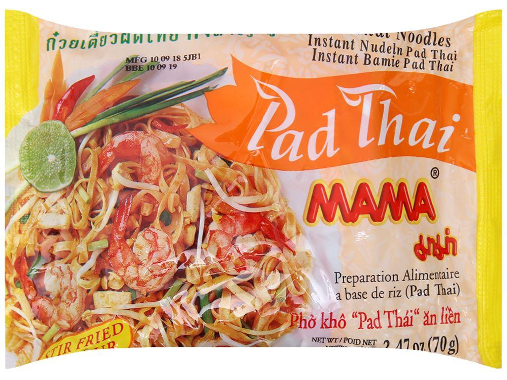 Phở khô Mama Pad Thái gói 70g 2